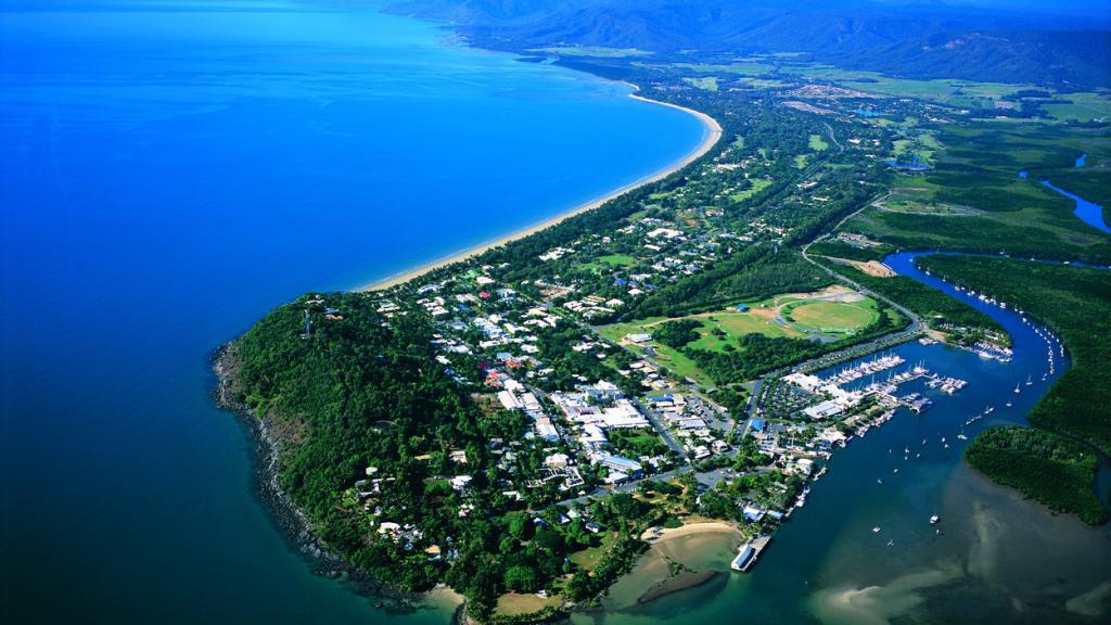 Aerial of Port Douglas